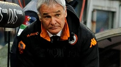 Ranieri quits after shock reverse