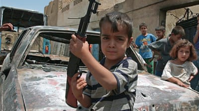 The rising cost of toy guns in Iraq