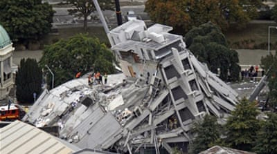 New Zealand quake death toll rises