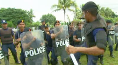 East Timor's security struggle
