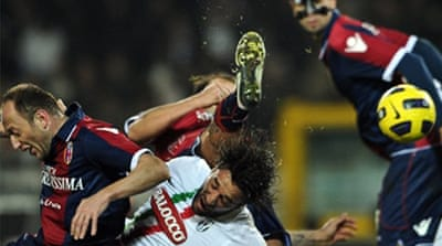 Bologna heap misery on Juve