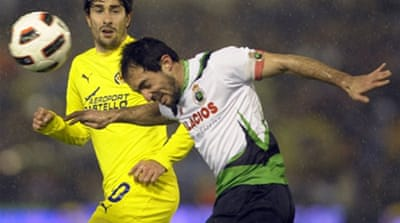 Villarreal salvage draw at Racing
