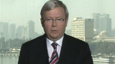 Kevin Rudd speaks to Al Jazeera