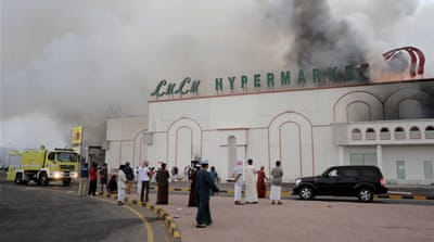 Looting reported amid Oman protests