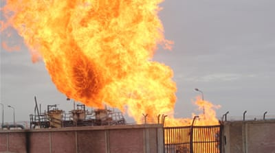 Explosion rocks Egypt gas pipeline