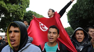 Tunisian youth have been disappointed with the failure of the transitional governments, write the authors [AFP]