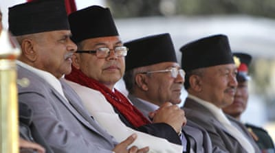 Nepal's PM takes oath of office