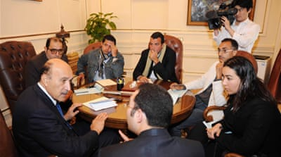 Egypt opposition enters talks