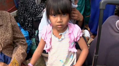 Villagers flee Cambodia-Thai shelling