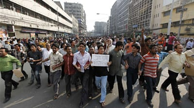 Strike cripples Bangladesh cities
