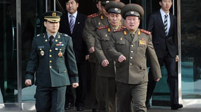 Talks between rival Koreas collapse