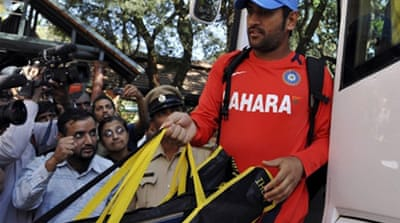Dhoni readies for World Cup
