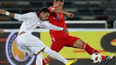 Iran stun Russia in friendly