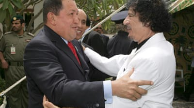 Chavez Libya talks offer rejected