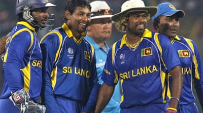 Sri Lanka reach World Cup quarters