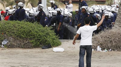 Footage shows crackdown in Bahrain