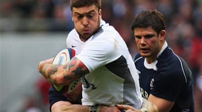 England on brink of Grand Slam