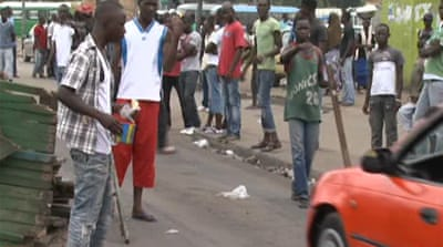 Street battles continue in Abidjan