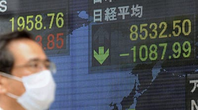 Japanese crisis hits world markets