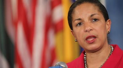 Rice has emerged as a clear front-runner to replace Clinton during Obama's second four-year term [AFP]