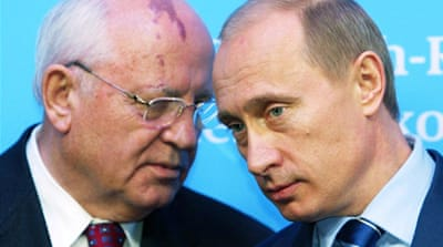 Gorbachev: Time limited for Putin