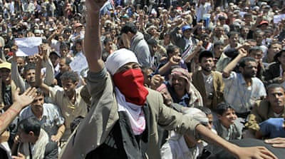 Anti-Saleh protests sweep Yemen