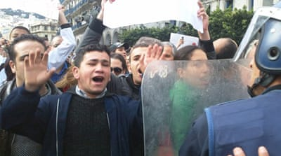'Reform not revolt' in Algeria
