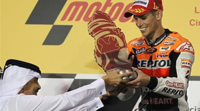 Stoner wins again in Qatar