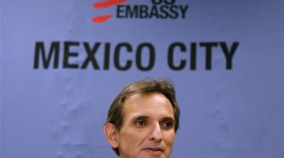 US ambassador to Mexico resigns