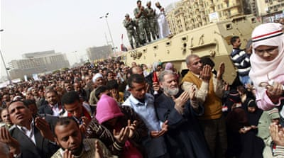 Fears of a 'counter-revolution' in Egypt