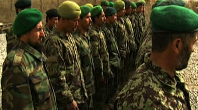 Afghan police set to take over security