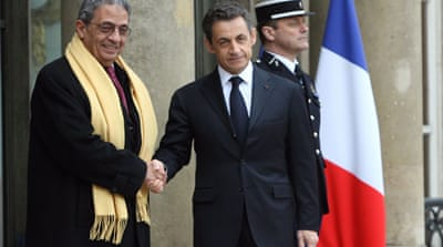 Sarkozy goes to war