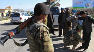 Karzai: Afghan troops to provide security