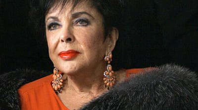 Hollywood legend Elizabeth Taylor dies