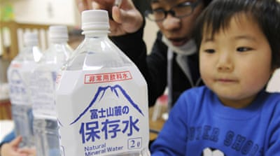 Anxiety in Japan over radiation in tap water