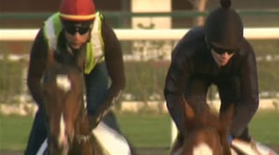 Dubai set for world's richest horse race