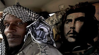 In pictures: Libya's ragtag rebel army