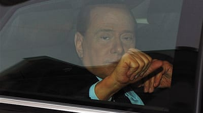 Berlusconi in court over tax fraud case