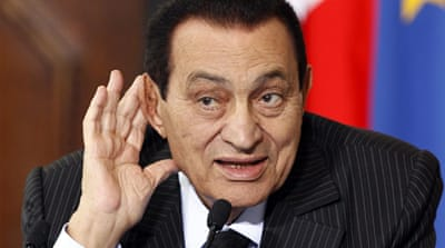 Egypt's Mubarak 'under house arrest'