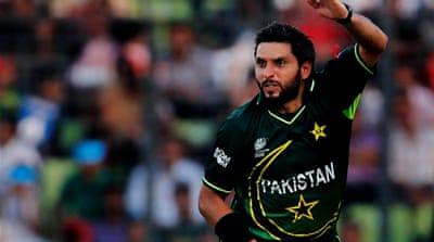 Afridi admits misconduct charges