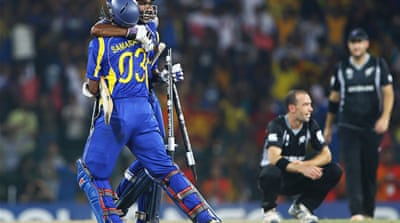 Sri Lanka advance to World Cup final