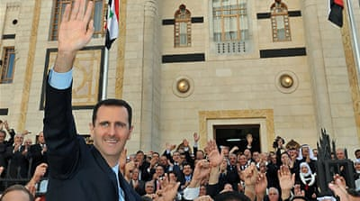 Syria's Assad warns of 'conspiracy'