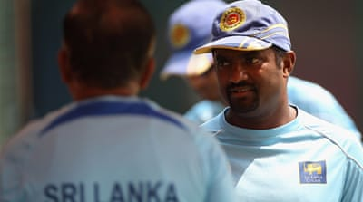 Sri Lanka sweat on Murali fitness