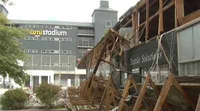 Fears over Christchurch rugby venue