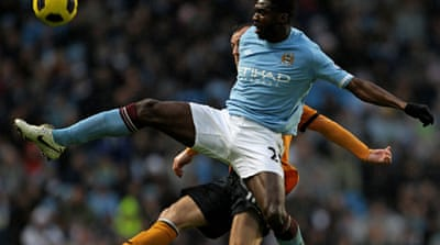 Toure banned for six months