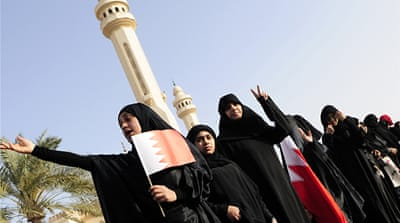 Women struggle for unity in Bahrain