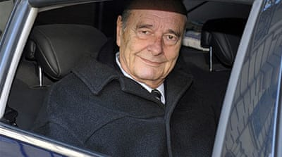 Chirac corruption trial suspended