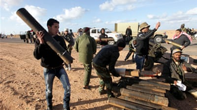 Libyan rebels mass for assault on Sirte