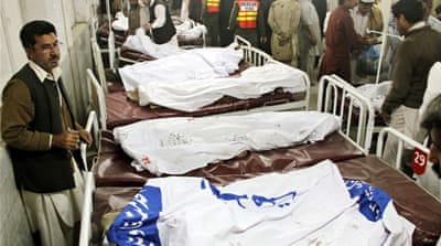 Many dead in Pakistan funeral blast