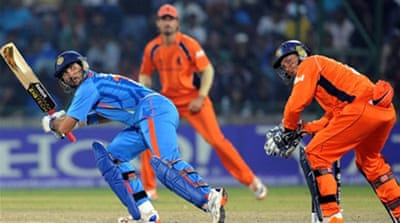 Yuvraj steers India to victory